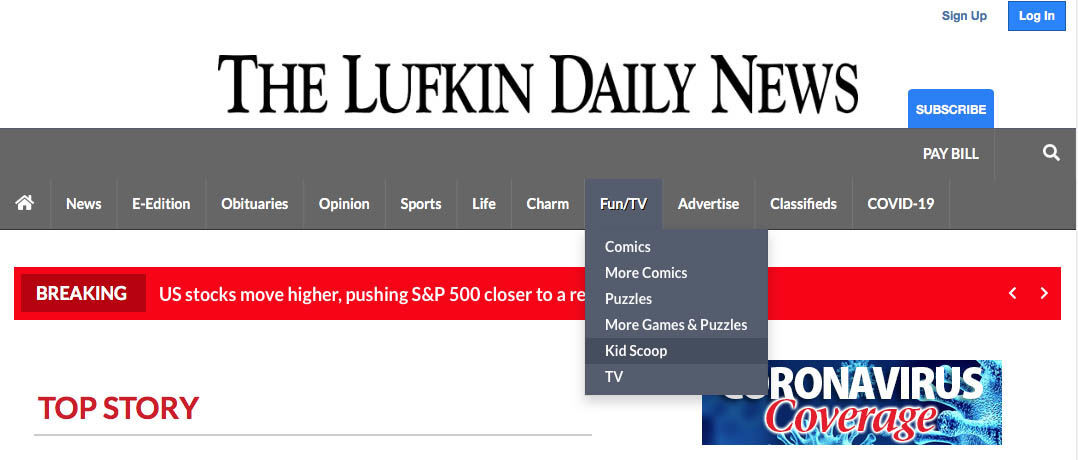 Kid Scoop at Lufkin Daily News copy.jpg