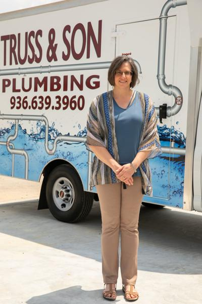 Truss-Thorton earns her certification as master plumber
