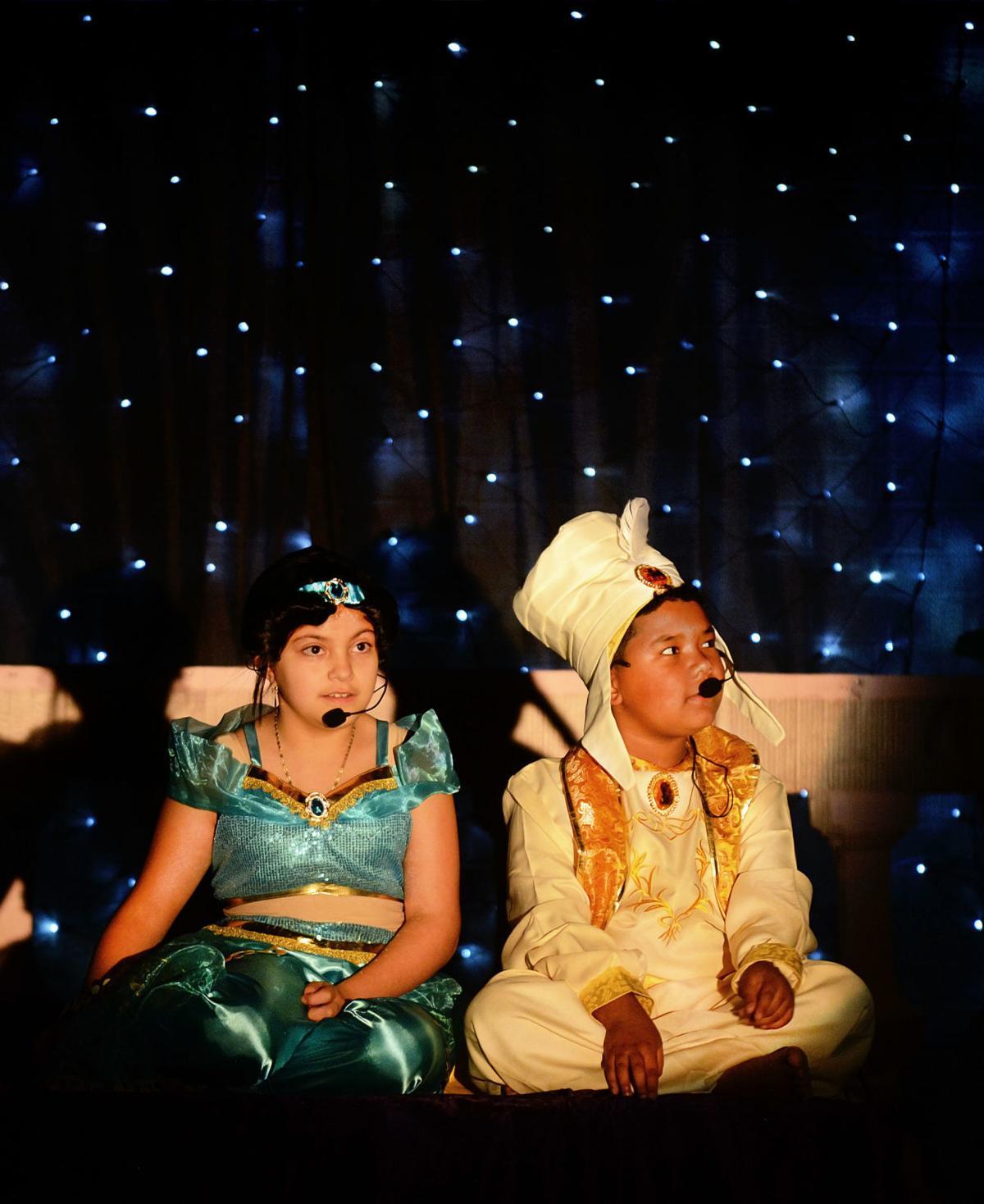 Aladdin comes to Coston