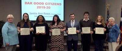 DAR Good Citizens awards