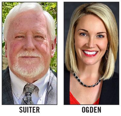 Wes Suiter and Kim Odgen