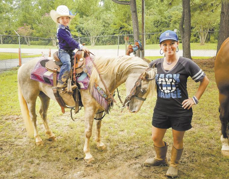 Pineywoods Youth Rodeo Association Riders Back The Blue
