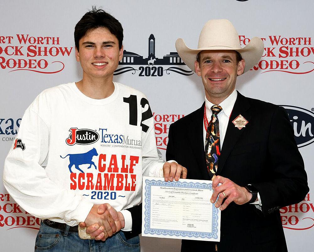 Asa Garrett Clary Ft. Worth Stock Show & Rodeo