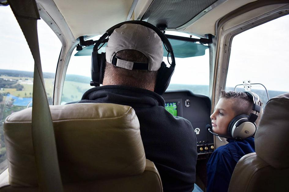 Flying Vikings bring flight to special needs children in Angelina County