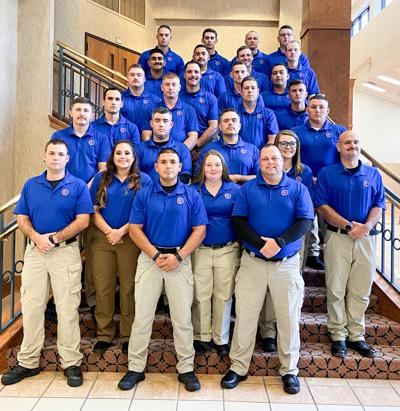 Angelina College Police Academy Class 108