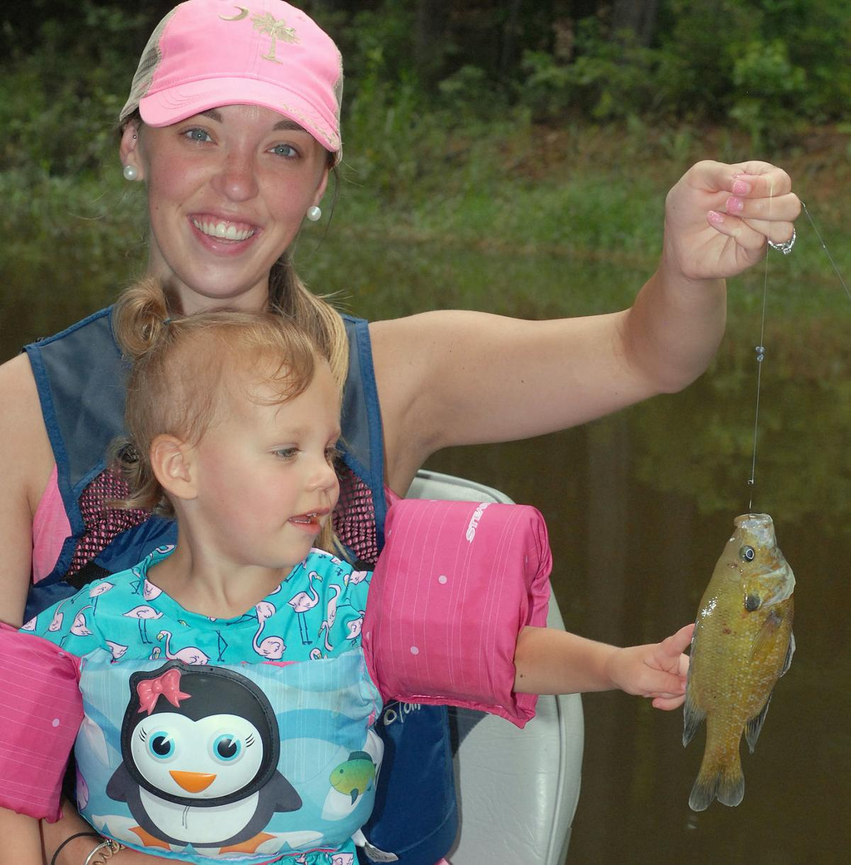 Fishing mom