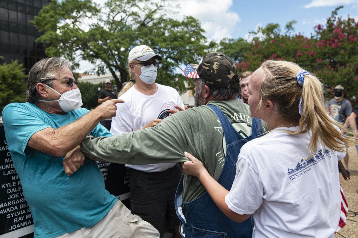 APTOPIX Racial Injustice Texas Protest for Portland