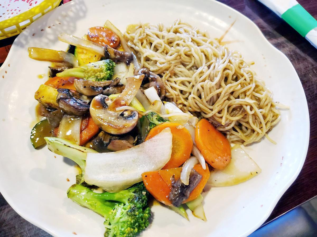 Yaki soba vegetable