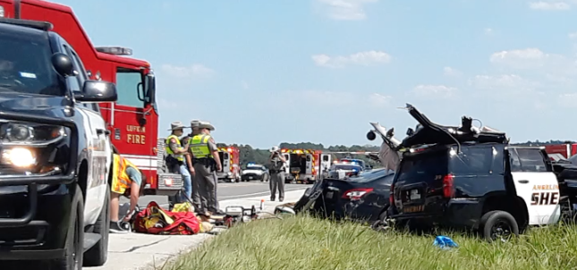 1 dead after head-on collision involving sheriff's patrol unit