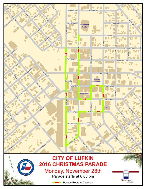 Lufkin Christmas Parade 2019 Parade route | | lufkindailynews.com
