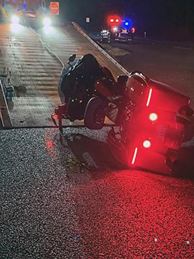 Woman flown to Conroe hospital after wreck between motorcycle, SUV