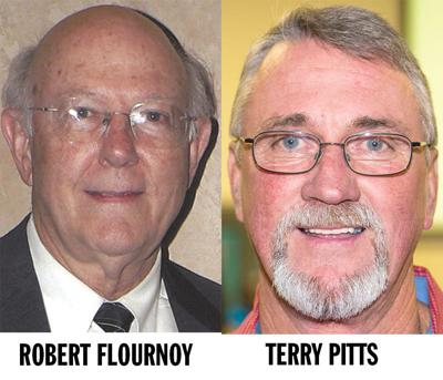 Robert Flournoy and Terry Pitts