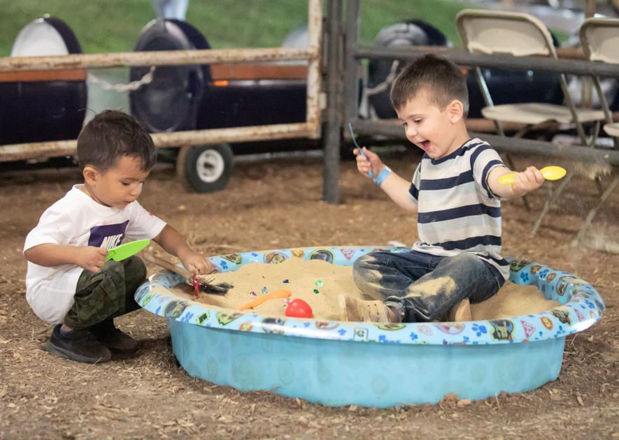Children's area at Forest Festival offers free fun for kids
