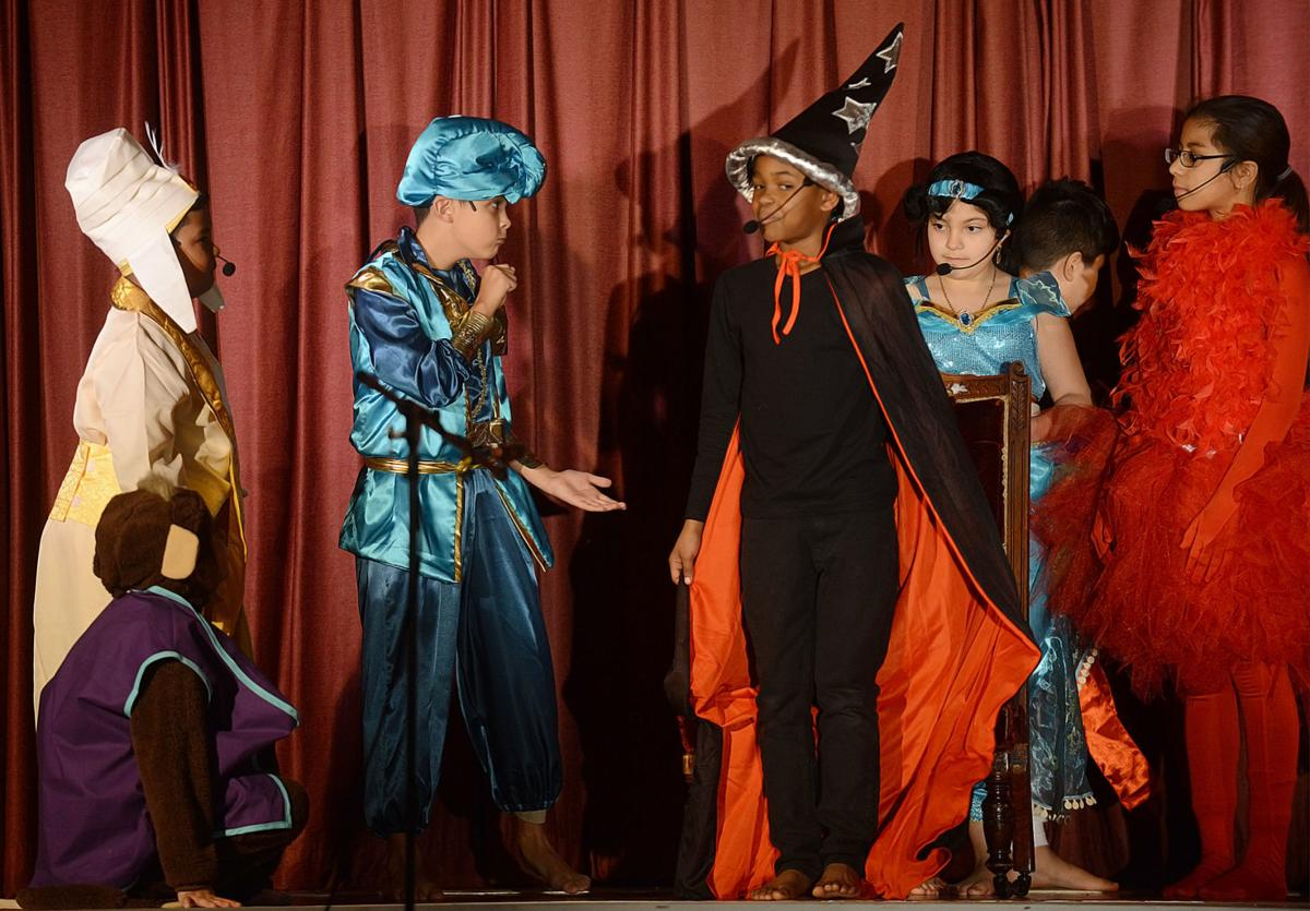 Aladdin at Coston