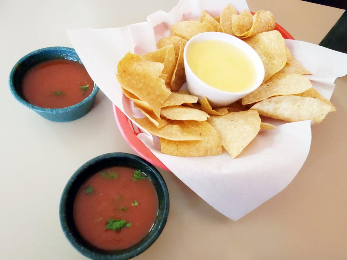Queso and salsa