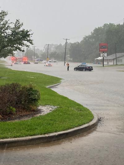 Frank Avenue flooding