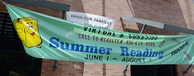 Library reminds patrons it is open for curbside service