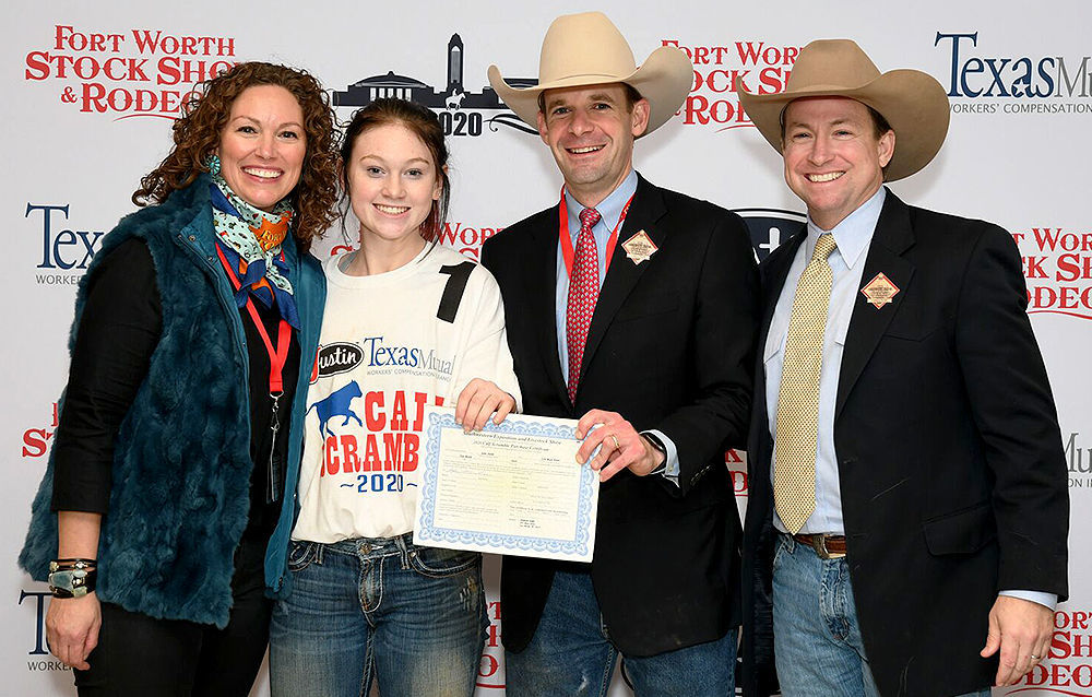 Anna Claire Johnson Ft. Worth Stock Show & Rodeo