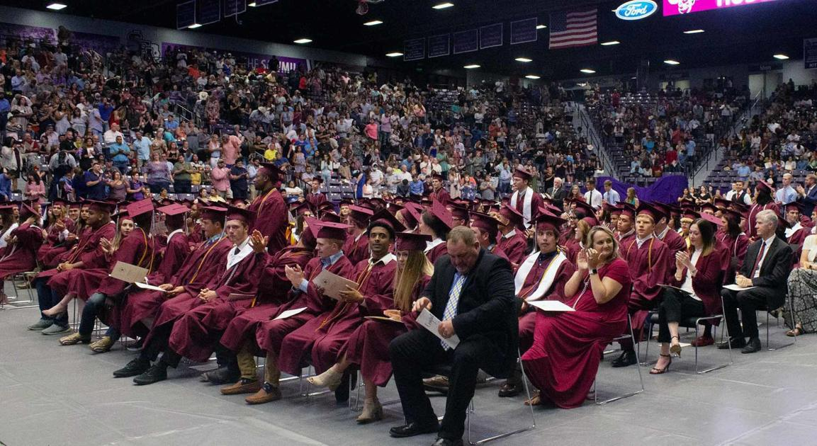 Hudson's Class of 2019 shares tears, happiness at graduation