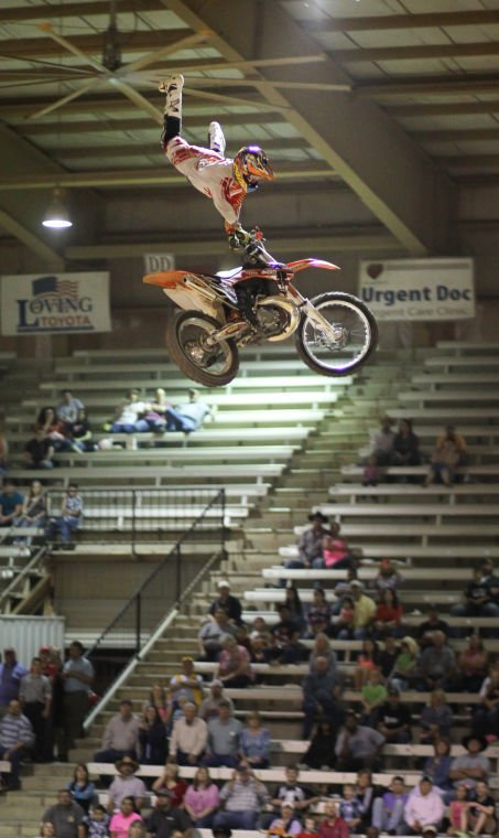 What A Ride Motocross Champ Thrills At Lufkin Rodeo