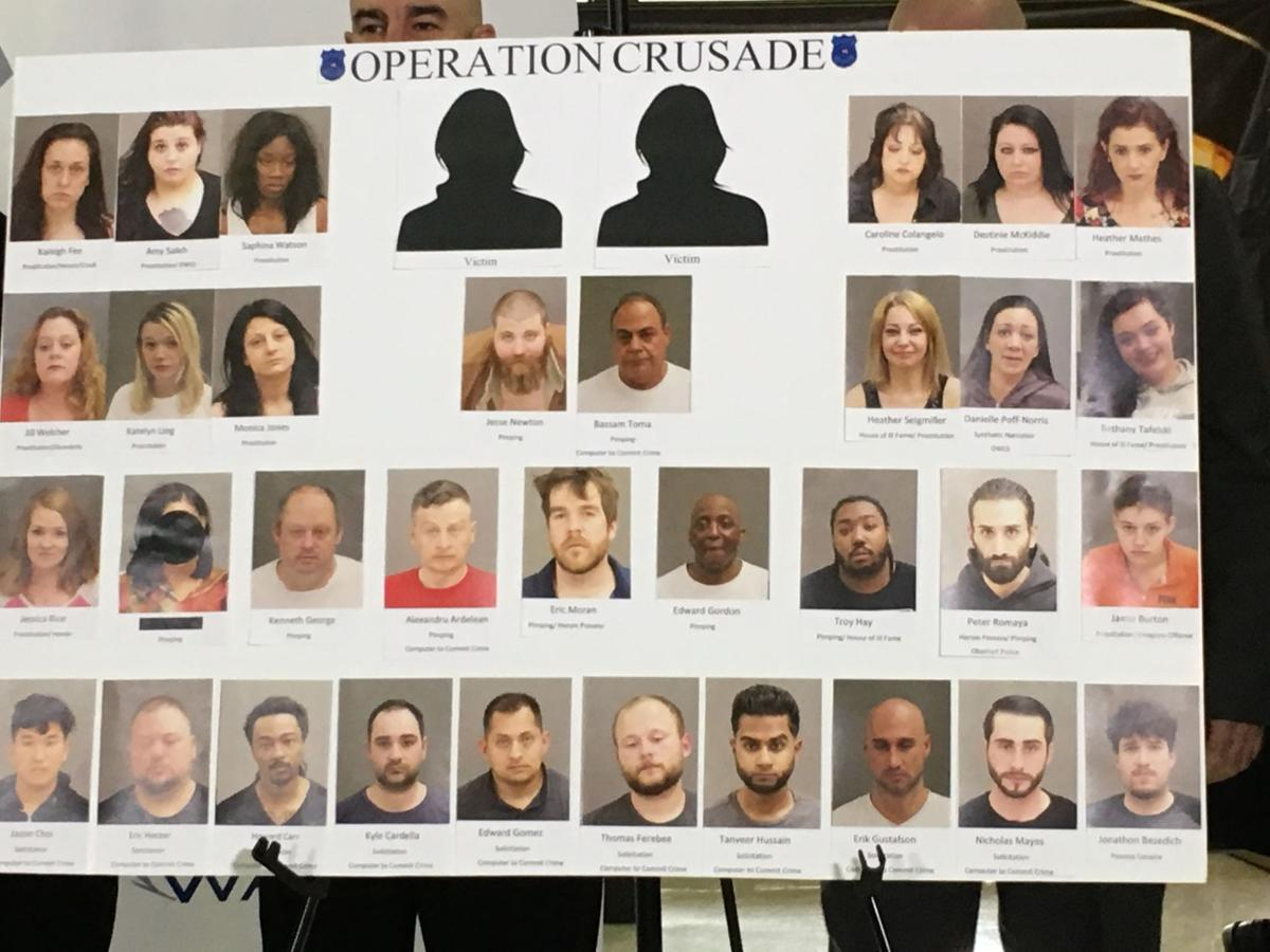 Warren trafficking suspects