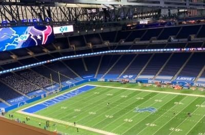 Ford Field, Detroit Lions