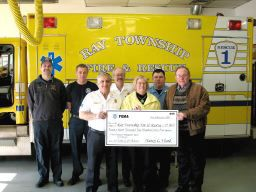 Ray Township FD receives grant