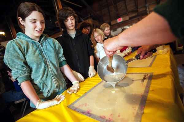Wolcott pulls off old-fashioned taffy event