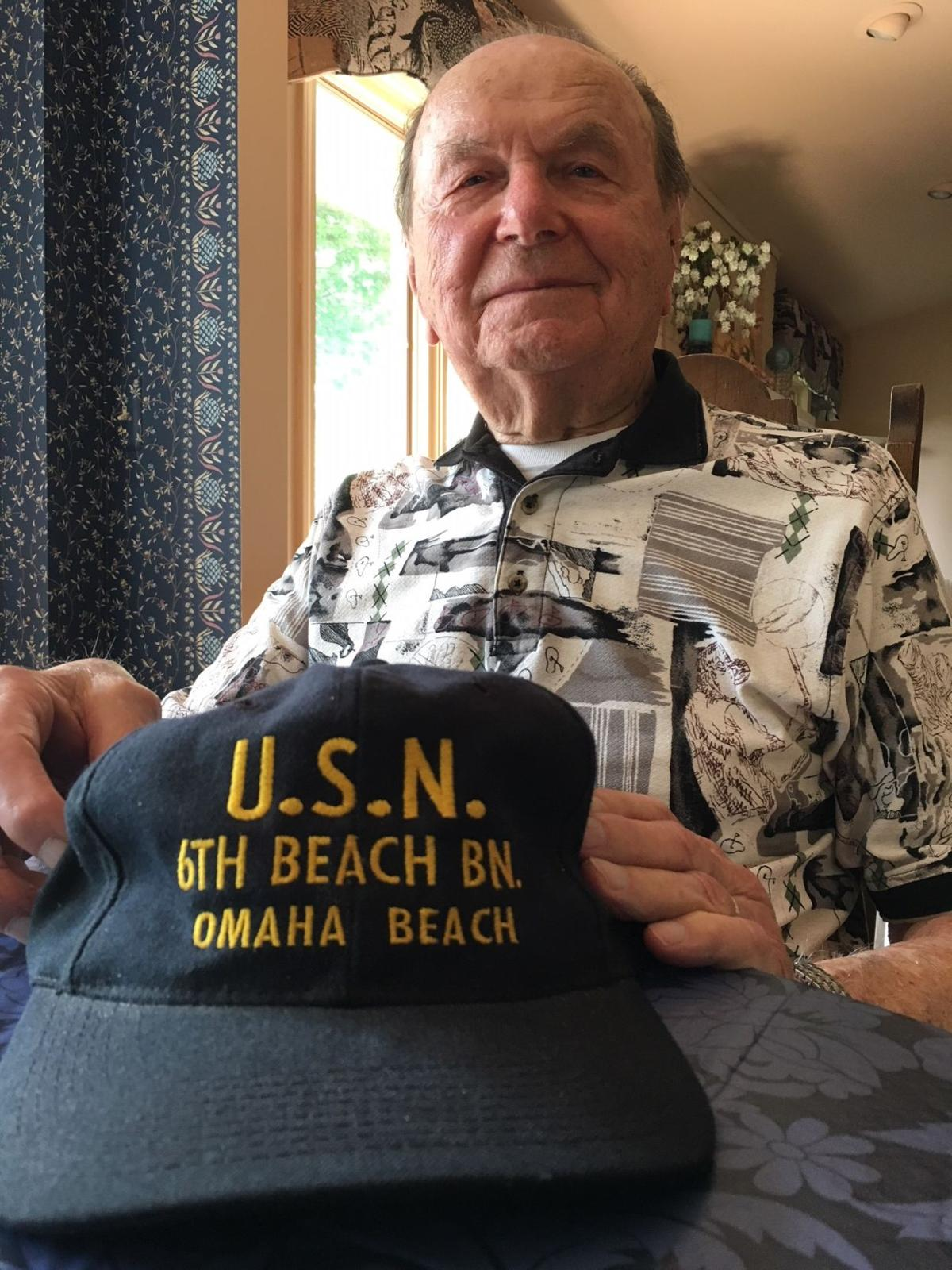 Charles Celusnak World War II D-Day veteran