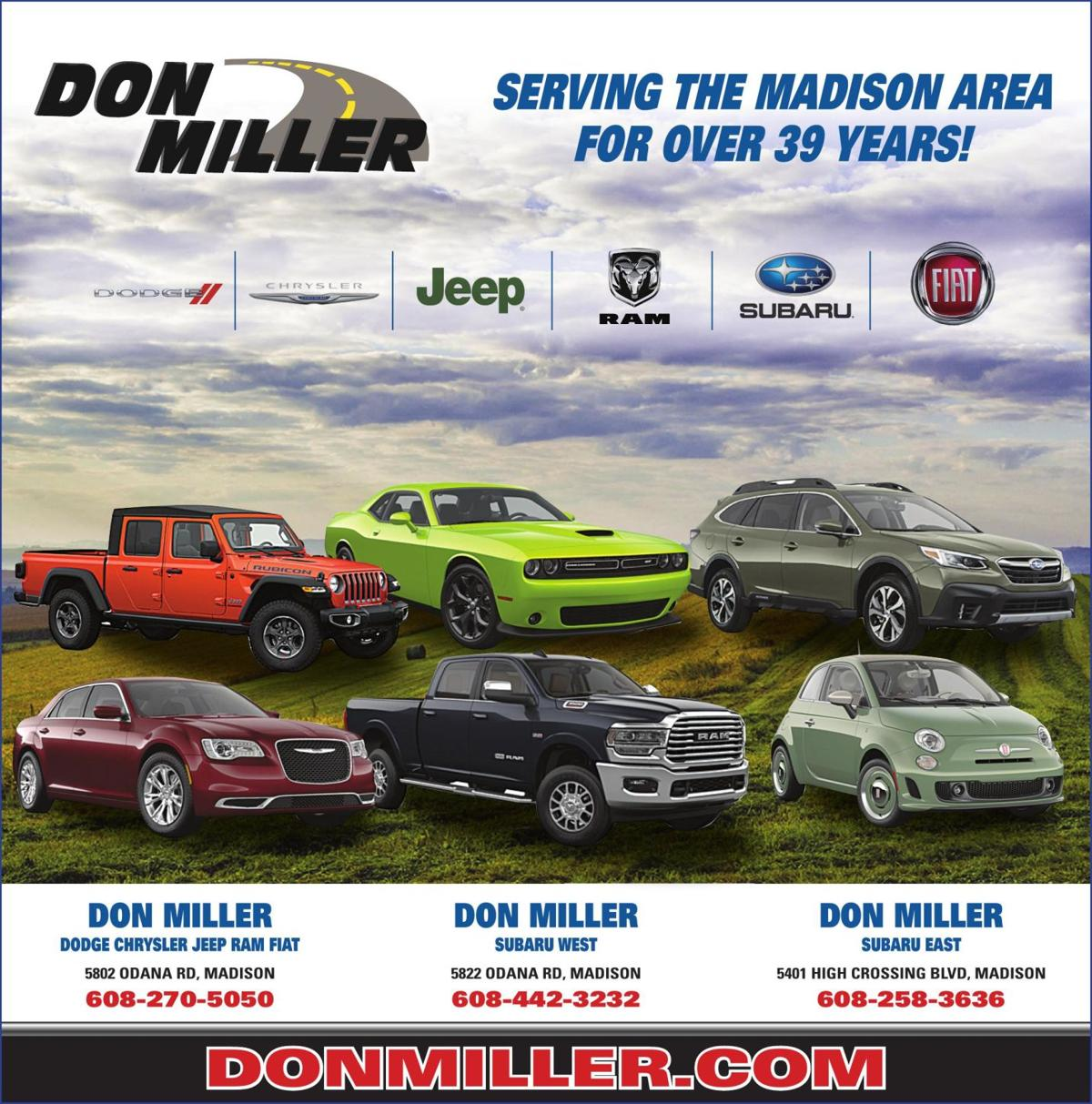Don Miller Subaru East >> 3791289 Pdf Ad Vault Madison Com