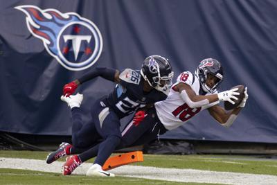 Randall Cobb with Houston Texans, AP photo