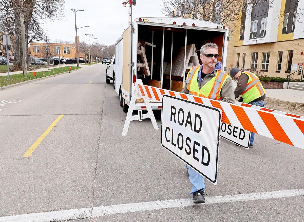 COVID-19 Transportation - street closure