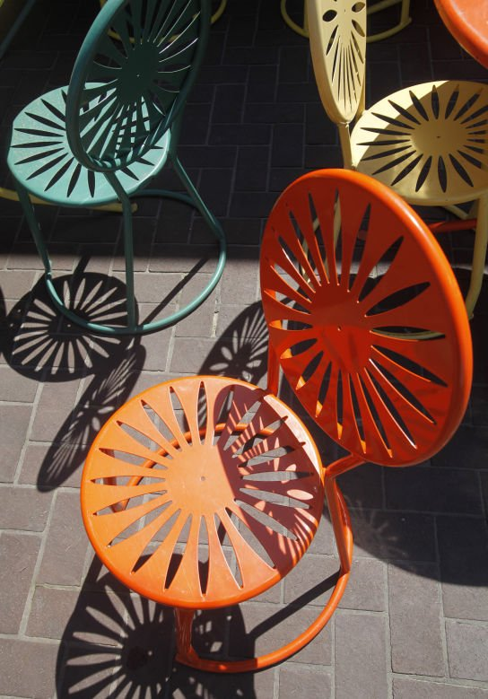 100 Objects Terrace chair & Madison in 100 objects: UW-Madison terrace chairs | Madison in 100 ...