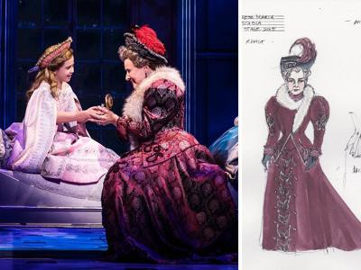 Dowager Empress costume design Anastasia