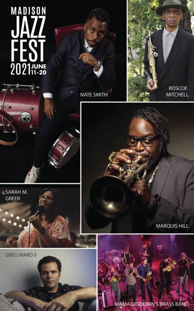 Madison Jazz Festival collage