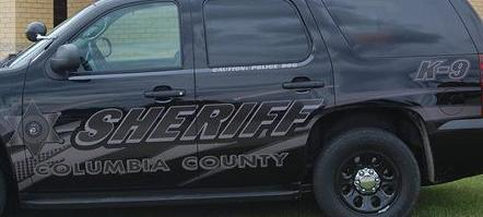 Columbia County Squad Car tight crop