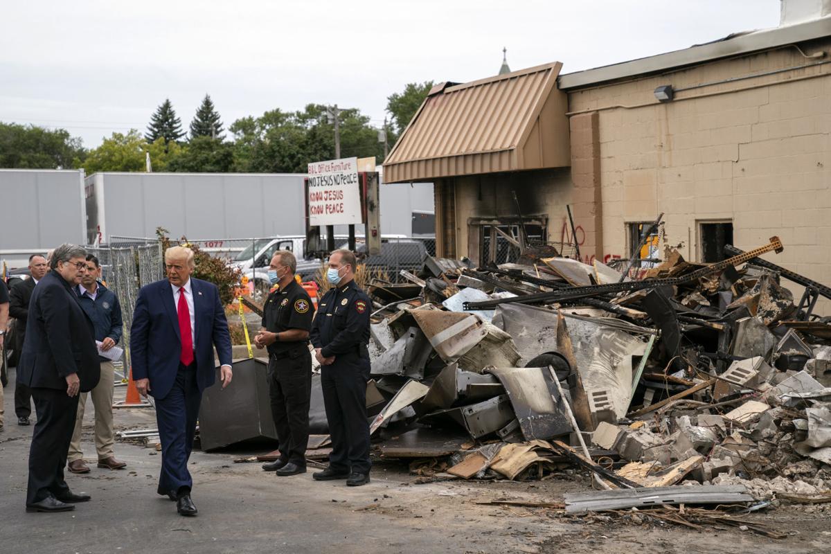 Trump in Kenosha