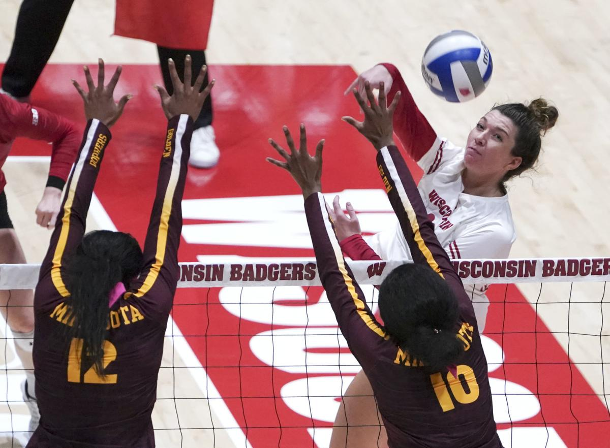 UW volleyball cover photo 10-14