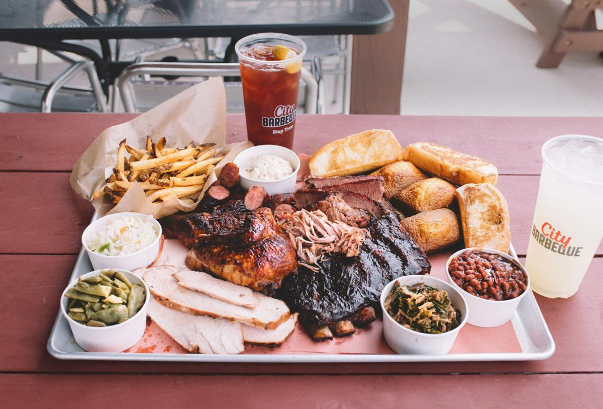 City Barbeque meal