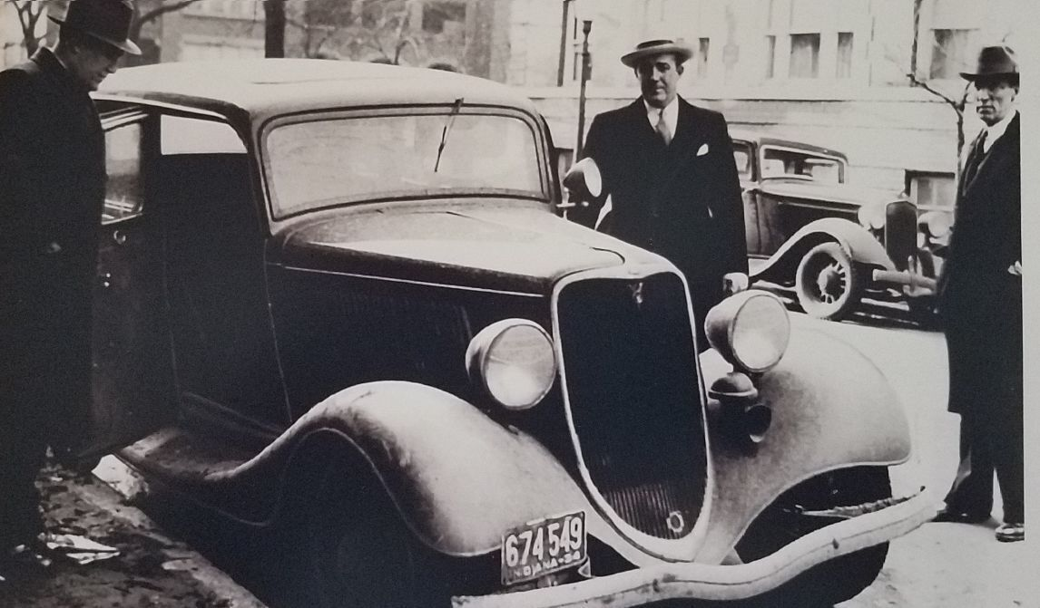 Dillinger and Holley families to watch as stolen sheriff's car returns to Crown Point