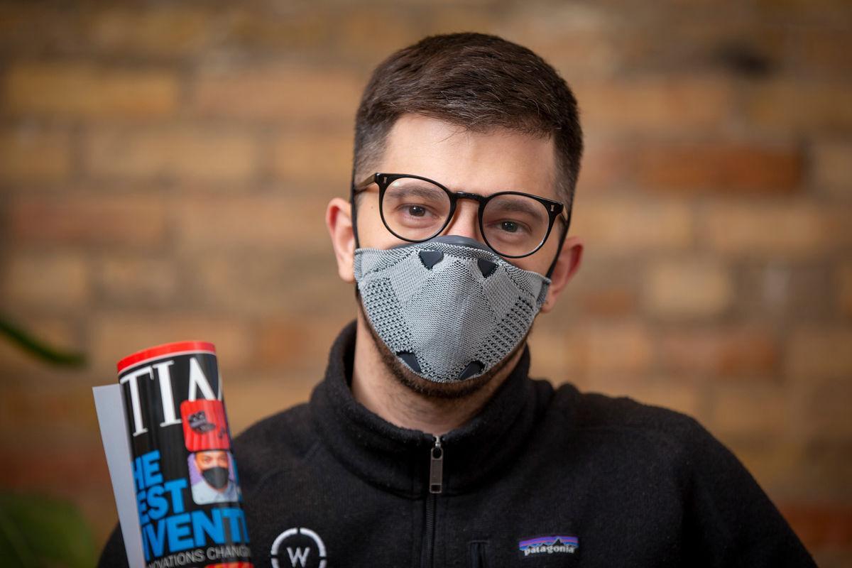 Breathe99 face mask Max Bock-Aronson