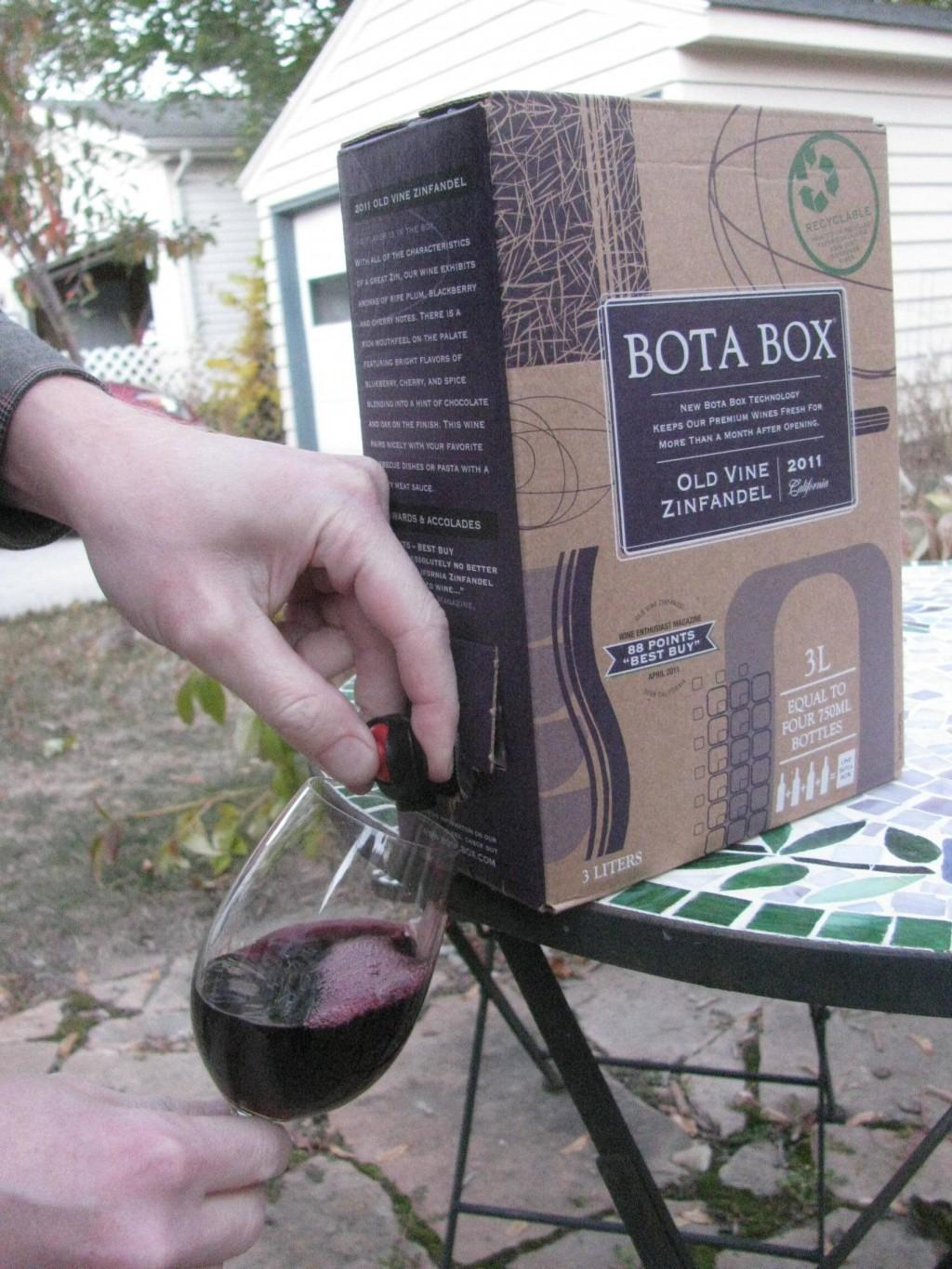 Salud! This Thanksgiving, go big and go home with box wine