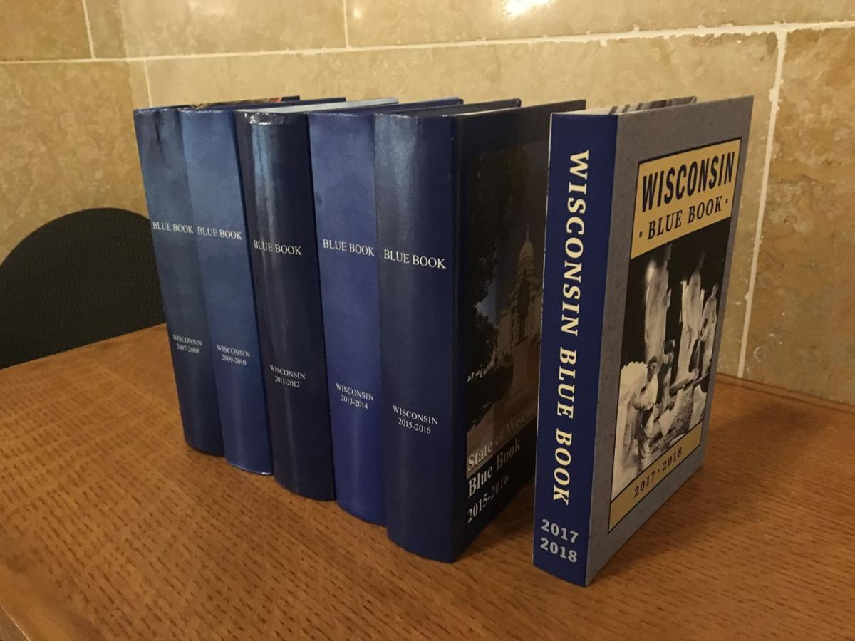 New Wisconsin Blue Book sheds 300 pages, no longer blue