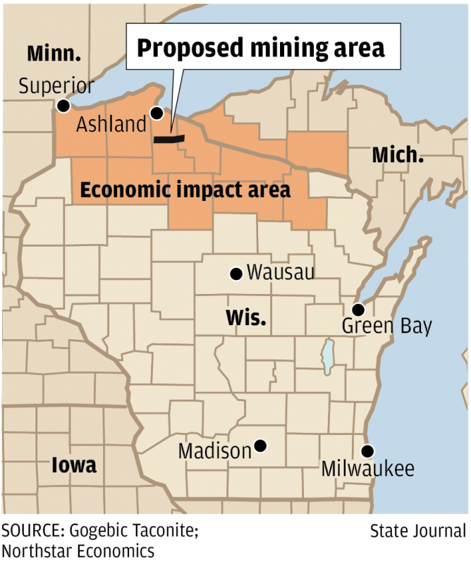 Proposed northern Wisconsin mine brings promise of jobs, but ... on