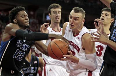 Sam Dekker, UW men's basketball vs. Duke