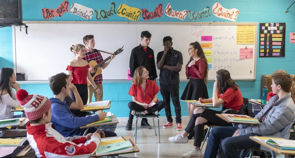 School Spotlight - Singing Valentines