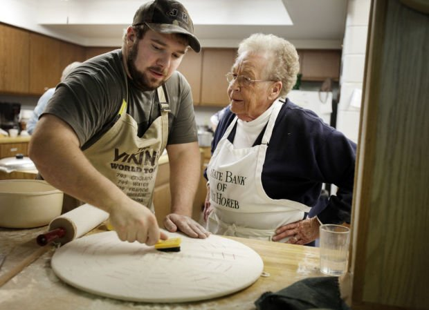 Younger generations flip for making lefse   Local News
