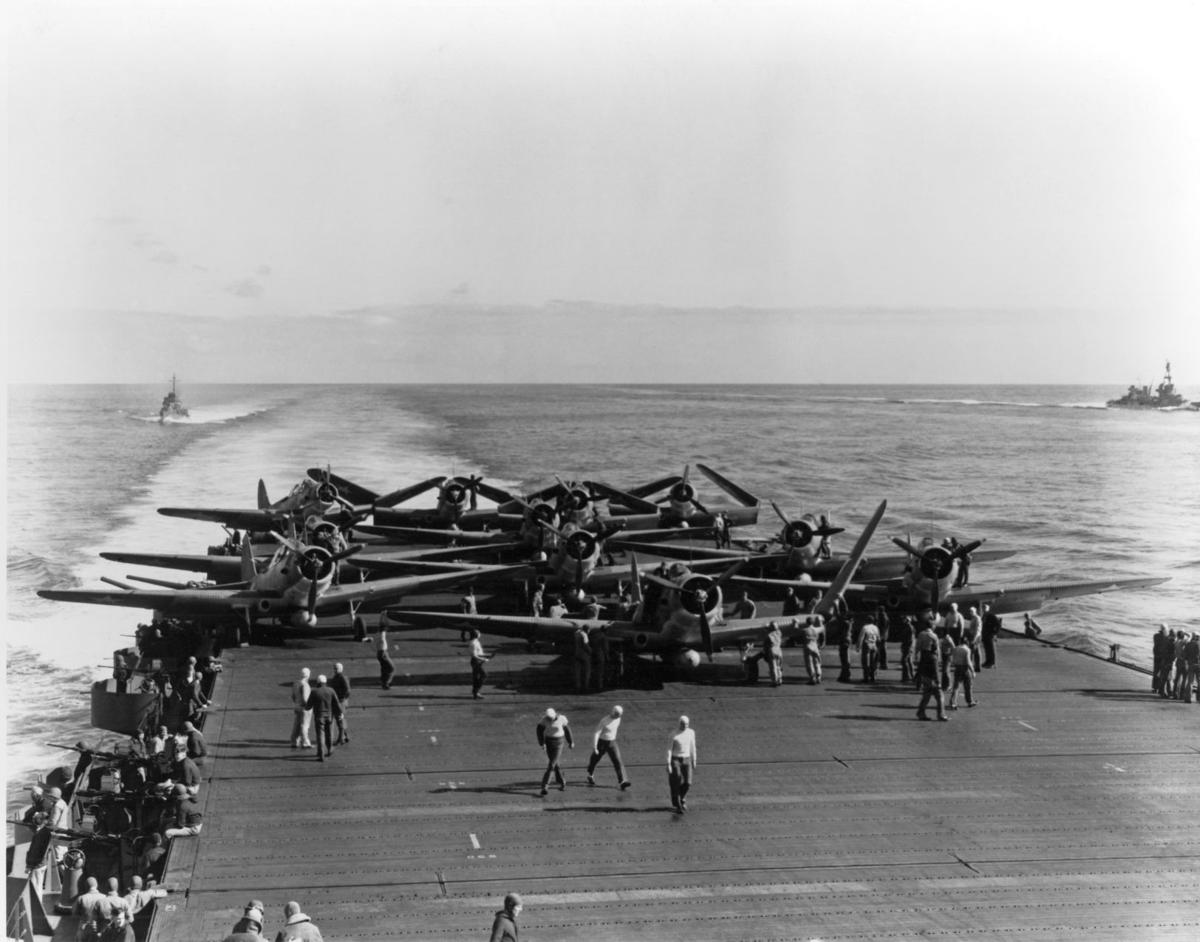 WWII Pacific Battle of Midway