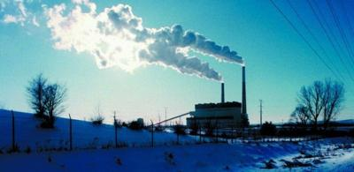 Columbia power plant near Portage