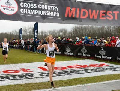 Prep cross country photo: Madison La Follette's Finn Gessner eighth in Foot Locker regional race
